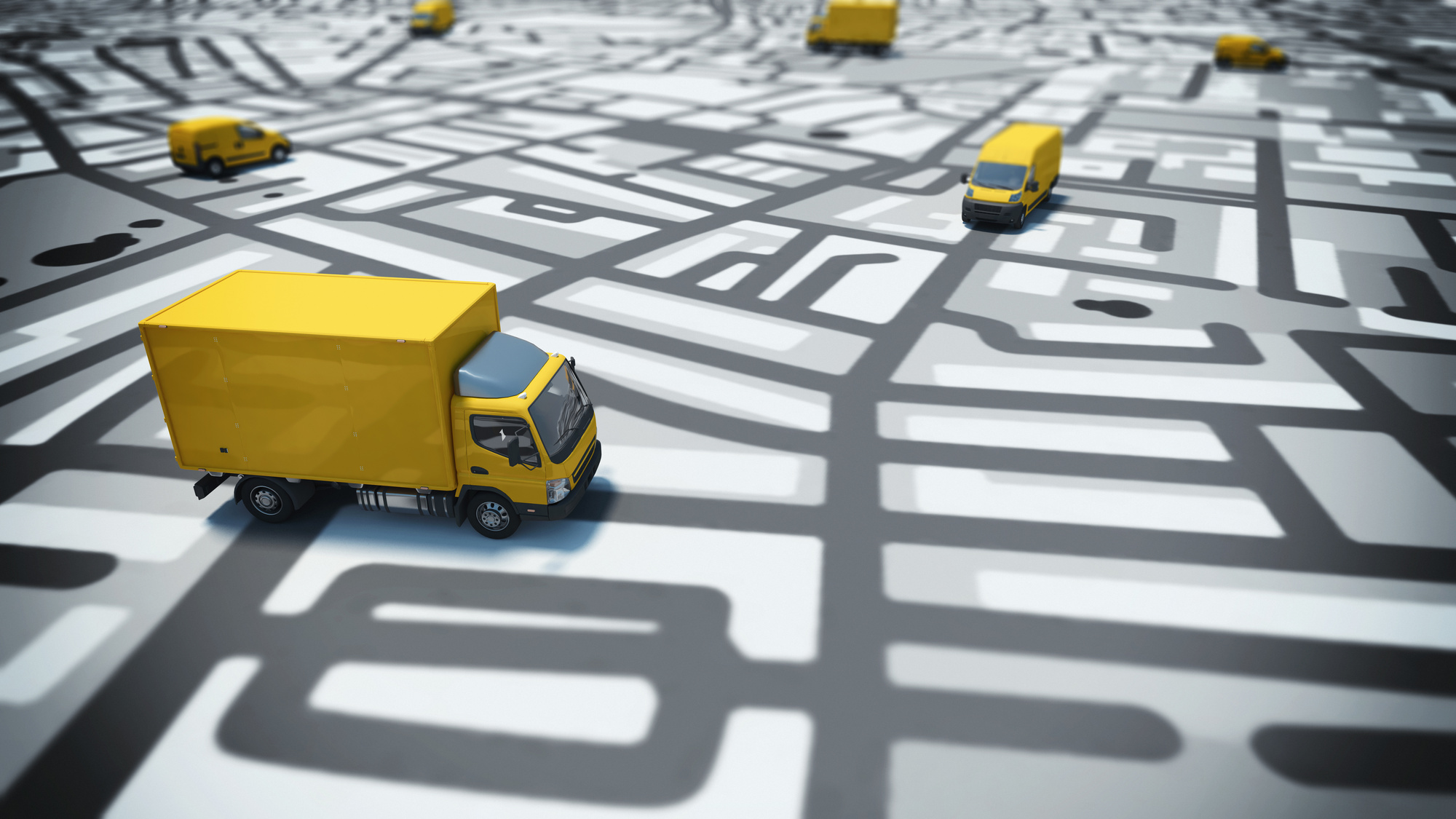 Real-Time Truck Tracking Software